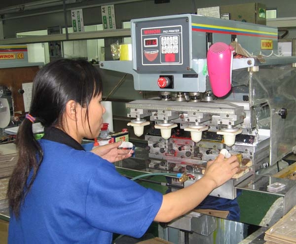 Automatic Four Color Pad Printing Machine