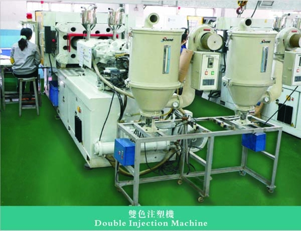Double Injection Machine